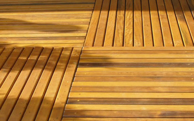 Itauba Decking